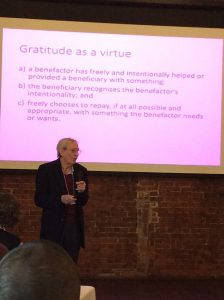 Photo of Dr. Tudge Presentation